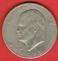 """UNITED STATES  # ONE Dollar """"Washington Quarter"""" FROM 1971 - Emissioni Federali"""