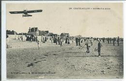 Chatelaillon-Arrivée D'un Avion - Châtelaillon-Plage
