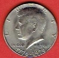 """UNITED STATES  # ½ Dollar """"Kennedy Half Dollar"""" 1776-1976 - Federal Issues"""