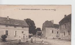 COTE D'OR - 3 - MONTCEAU ECHARNANT - La Place Du Village - Autres Communes