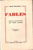 Fables René Delcassan +++TBE+++ PORT GRATUIT - Poésie