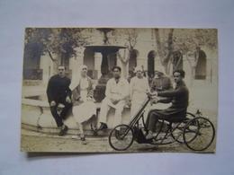 CARTE POSTALE PHOTO Ancienne : HOPITAL MILITAIRE - 1914-18