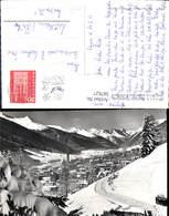 587627,Foto Ak Davos Hohe Promenade M. Blick Geg. D. Tinzenhorn Winter Switzerland - GR Graubünden