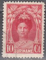 SURINAM     SCOTT NO. 123     USED      YEAR  1927 - Suriname ... - 1975