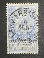 COB N ° 60 Oblitération Verviers (Station) - 1893-1900 Fine Barbe