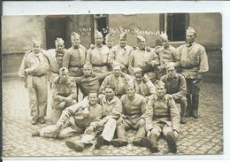 Réservistes Du 61° Regiment -carte Photo - Guerre 1939-45