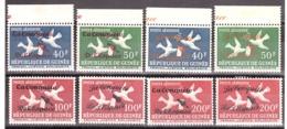 Guinée - 1962 - PA N° 22 à 25 - Neufs ** Et * - Spoutnik - Surcharges Différentes - Guinea (1958-...)