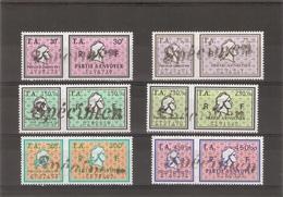 Timbres Amendes Neufs Surchargés Specimen - Revenue Stamps