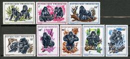 Rwanda, Yvert 370/377, Scott 359/366, MNH - Rwanda