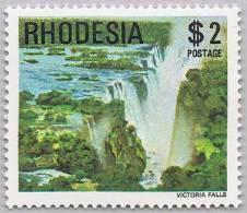 Rhodesia 1978 Victoria Falls Waterfall Wasserfall ** MNH - Zimbabwe (1980-...)