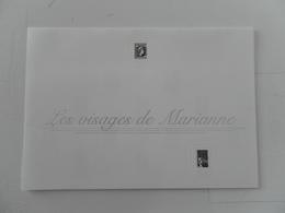 FRANCE DOCUMENT LES VISAGES DE MARIANNE - Documents De La Poste