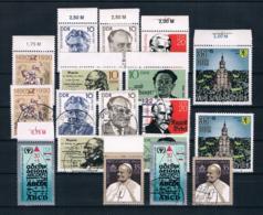 DDR 1990 Posten/Lot ** + Gestempelt - Neufs