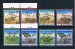 DDR 1990 Luftfahrt Mi.Nr. 3311/14 Kpl. Satz ** + Gestempelt - DDR