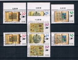DDR 1990 Mi.Nr. 3340/43 Kpl. Satz ** + Gestempelt - DDR