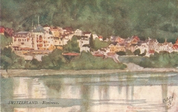 """""""A.D.McKormick. Switzerland.Montreux"""" Tuck Oilette Wide-wide-world Ser. PC # 7105 - Quinton, AR"""