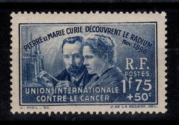 YV 402 Curie N** Cote 27 Euros - Neufs