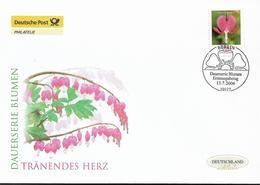 2006  Deutschland Allem. Fed. Mi. 2547 FDC  Blumen : Tränendes Herz (Dicentra Spectabilis) - FDC: Enveloppes