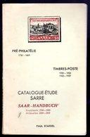 Staedel  /   Catalogue étude Sarre 1750-1869+1920-1959 ( RARE ) - Littérature