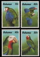 Bahamas 1990 - Mi-Nr. 728-731 ** - MNH - Papagei / Parrot - Bahamas (1973-...)