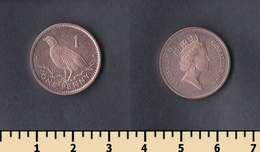 Gibraltar 1 Penny 1996 - Gibilterra