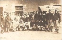 45 - CHÂTEAUNEUF-SUR-LOIRE - Carte-photo MESSAGERIE B. JAZAT Desservant Jusqu'à Châtillon/L. - (baches TOUTAIN, Jargeau) - France
