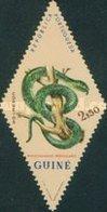 USED STAMP Portuguese-Guinea - Snakes  -1963 - Guinea (1958-...)