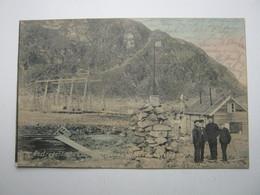 SPITZBERGEN , , Station  ,   Schöne Karte Um 1910 - Norwegen