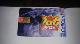 Ireland-20 Units-get Mashed(2)-used Card+1card Prepiadfree - Irlanda