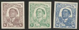 Philippines (Japanese Occupation)  - 1945 Puppet Government MH *     Sc N37-8 - Philippines