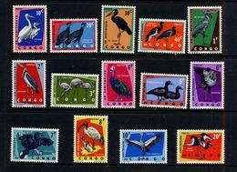 Congo 1963 COB 481/94 * Oiseaux - République Du Congo (1960-64)