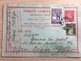 PWS / Turkije Tarsus 15/1/1942 Naar Oostende Duitse Censuur / Censure Allemand - Lettres & Documents
