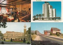 Lot De 12 Cartes--hotels--restaurants Pays Etrangers - Postkaarten