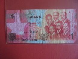 GHANA 1 CEDIS 2010 CIRCULER - Ghana