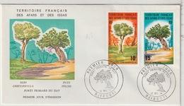 AFARS ET ISSAS - FDC - 1974 - Afars Et Issas (1967-1977)
