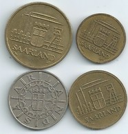 SARRE 4 PIECES 1954/1955.. 10/20/50/100 N050 - Saar