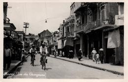 INDOCHINE HANOÏ RUE DES CHANGEURS 1953 - Vietnam