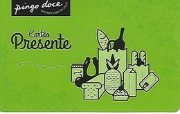 """PORTUGAL - Gift Card - """"Pingo Doce"""" Supermarket - Rechargeable Debit Card - Cartes De Crédit (expiration Min. 10 Ans)"""