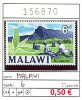 Malawi - Michel 6 - ** Mnh Neuf Postfris - Malawi (1964-...)