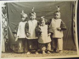 CHINE - China -PHOTO  Petits Chinois Orphelins à SHANGHAI ? - Chine