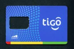 GHANA - SIM Frame Phonecard As Scan - Ghana