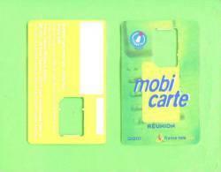 REUNION - SIM Frame Phonecard/Mobi Carte - Reunion
