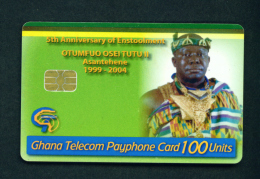 GHANA - Chip Phonecard As Scan - Ghana