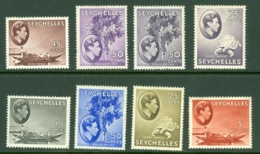 Seychelles: 1938/49   KGVI  Selection To 5R [21 Stamps]   MH - Seychelles (...-1976)
