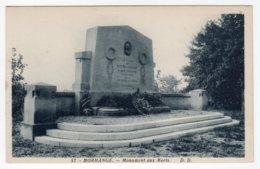 Morhange (Moselle)  Monument Aux Morts - Morhange