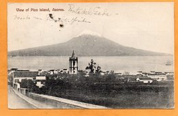 Pico Island Azores 1910 Postcard - Açores