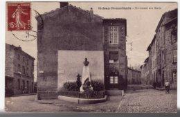Saint-Jean-Bonnefonds  (Loire) Monument Aux Morts - Andere Gemeenten