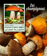 Djibouti. 2019 Mushrooms. (0101b)  OFFICIAL ISSUE - Champignons