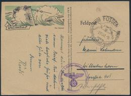 Deutsches Reich Brief Feldpost SST Füssen Wilhelmshaven U-Boot Wintersportplatz - Besetzungen 1938-45