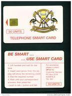 UGANDA - Chip Phonecard As Scan (Issue No Figure) - Uganda