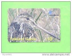 FALKLAND ISLANDS - Remote Phonecard/Bird - Songbirds & Tree Dwellers